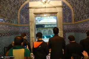 مراسم احیای شب بیست و یکم ماه رمضان در حرم کریمه اهل بیت(س)