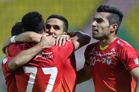 پیروزی فولاد خوزستان مقابل شهرخودرو/ جدال مربیان استقلالی را نکونام برد