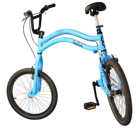 دوچرخهای که هر دو چرخ آن فرمانپذیر است!