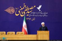 رئیس جمهوری: شهید مصطفی خمینی امید همه انقلابیون بود/ بیت امام حق بزرگی بر گردن ما دارد