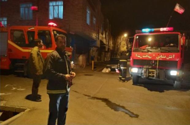 انفجار گاز شهری در زنجان یک مصدوم برجا گذاشت