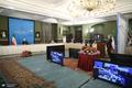 مراسم بهره برداری از طرح های ملی وزارت نیرو استان های کرمانشاه و فارس
