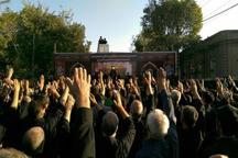 اجتماع عزاداران حسینی در تبریز برگزار شد