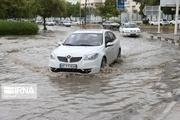 بارش باران موجب آبگرفتگی جاده بروجرد – خرمآباد شد