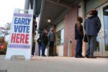 رای گیری زودهنگام در چند ایالت آمریکا+ تصاویر