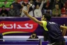 پیروزی پتروشیمی در هفته دوم از دور برگشت لیگ برتر تنیس روی میز