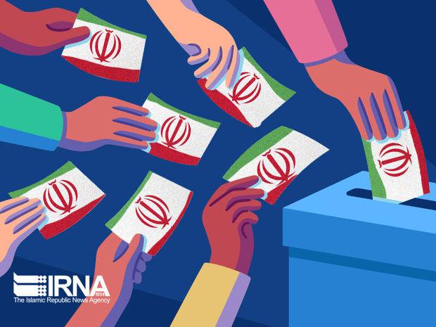 قطار داوطلبان انتخابات مجلس زنجان در ایستگاه ۶۷