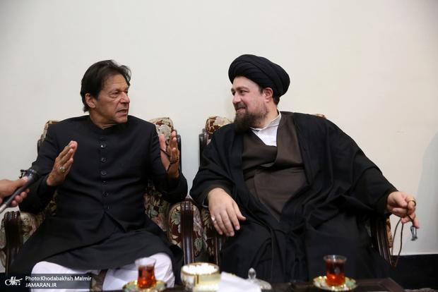 سید حسن خمینی: پاکستان جزء بسیار بزرگی از جهان اسلام است/ عمران خان:  می خواهیم روابط اقتصادی و فرهنگی ایران با پاکستان بیشتر شود