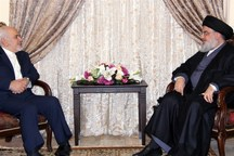 نصرالله خطاب به ظریف: شما صدای رسا در همه محافل بینالمللی و سخنگوی حق در برابر طاغوتهای جهان هستید