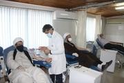 اعضای ستاد نماز جمعه آستارا خون اهدا کردند