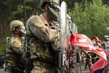 ادامه اعتراض ها در آمریکا و برقراری حکومت نظامی در ایالت جورجیا