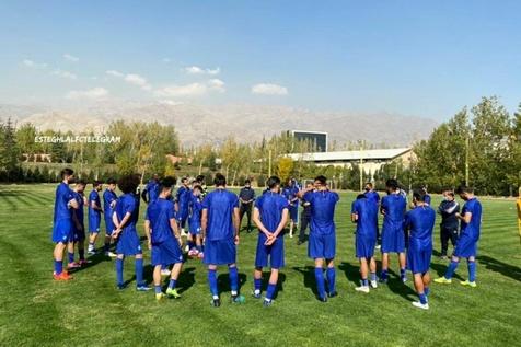 تمرین استقلال به یاد زنده یاد پورحیدری