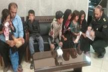 75 کودک گمشده دردیلم به آغوش خانواده ها بازگشتند