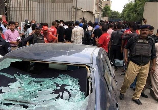 حمله به بورس «کراچی» پاکستان