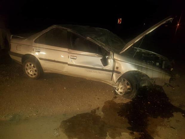 واژگونی دو خودروی سواری در محورهای چهارمحال و بختیاری 11 مصدوم بر جای گذاشت