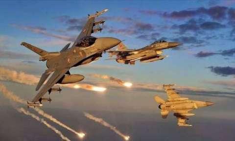 بمباران پایگاه نظامی ترکیه در سوریه توسط یک هواپیمای ناشناس
