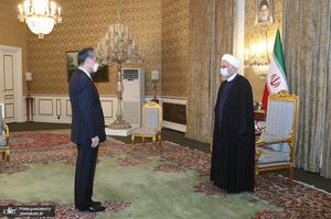 دیدار وزیر خارجه چین با رئیس جمهوری