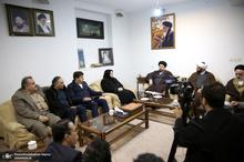 دیدار مدیر عامل و کارکنان کیش ایر با سید حسن خمینی