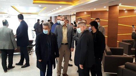صالحی امیری از فدراسیون کشتی بازدید کرد