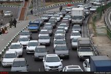 ترافیک پرحجم در ورودی و خروجهای شهر مشهد