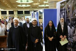 محفل شعر «حضور» در غرفه موسسه تنظیم و نشر آثار امام خمینی(س) نمایشگاه قرآن کریم