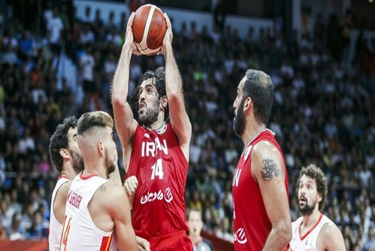شکست تیم ملی بسکتبال ایران مقابل یکی از غول های جهان!