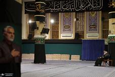 آخرین شب عزاداری حضرت اباعبدالله الحسین(ع) در حسینیه امام خمینی