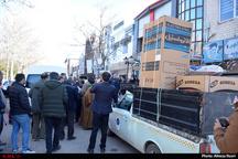 توزیع 40 سری جهیزیه بین نیازمندان شهر الوند