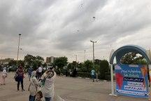 بادبادک ها در گنبد با رویکرد معرفی کتاب به پرواز درآمدند