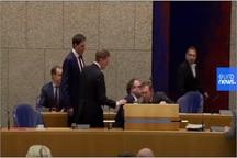 وزیر بهداشت هلند به دلیل فشار کرونا از هوش رفت+عکس