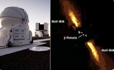 نخستی عکس مستقیم از یک سیاره فراخورشیدی