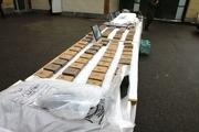 بیشاز ۲ تن انواع موادمخدر در سراوان کشف شد
