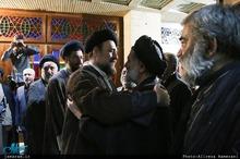 تسلیت سیدحسن خمینی در پی درگذشت حجت الاسلام والمسلمین علی اکبر محتشمی پور