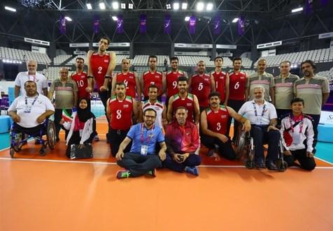برد تیم ملی والیبال نشسته ایران برابر روسیه
