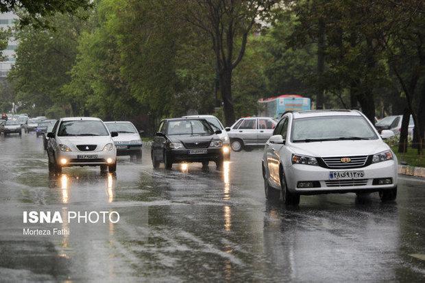 بارش های پراکنده ادامه دار در مازندران