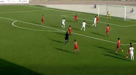 پیروزی تیم ملی جوانان ایران مقابل افغانستان در تورنمنت کافا