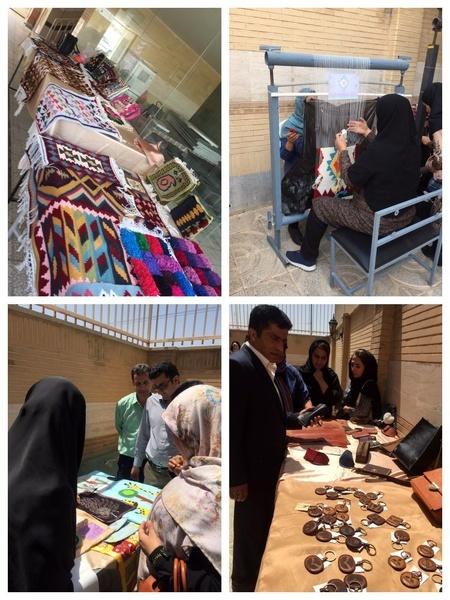 برگزاری نمایشگاه صنایع دستی در آبیک