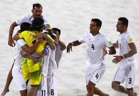 ساحلی بازان ایران با عبور از مصر به فینال جام بین قاره ای رسیدند