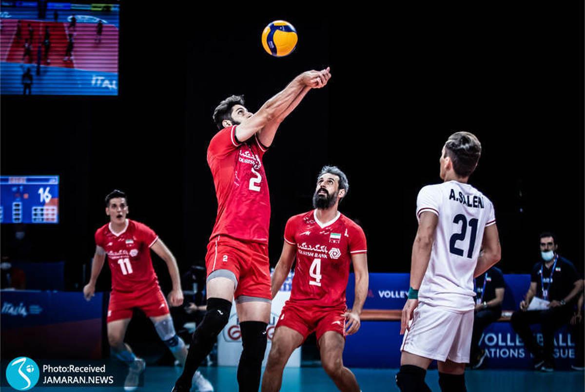 لیگ ملت های والیبال| عبادی پور: این بهترین بازی ما بود! / دچکو: ایران مثل ما بازی می کند