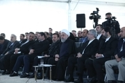 پروژههایی که روحانی در اردبیل افتتاح کرد