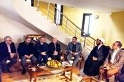 دیدار استاندار تهران با خانواده شهیده سانحه هواپیمای اوکراین
