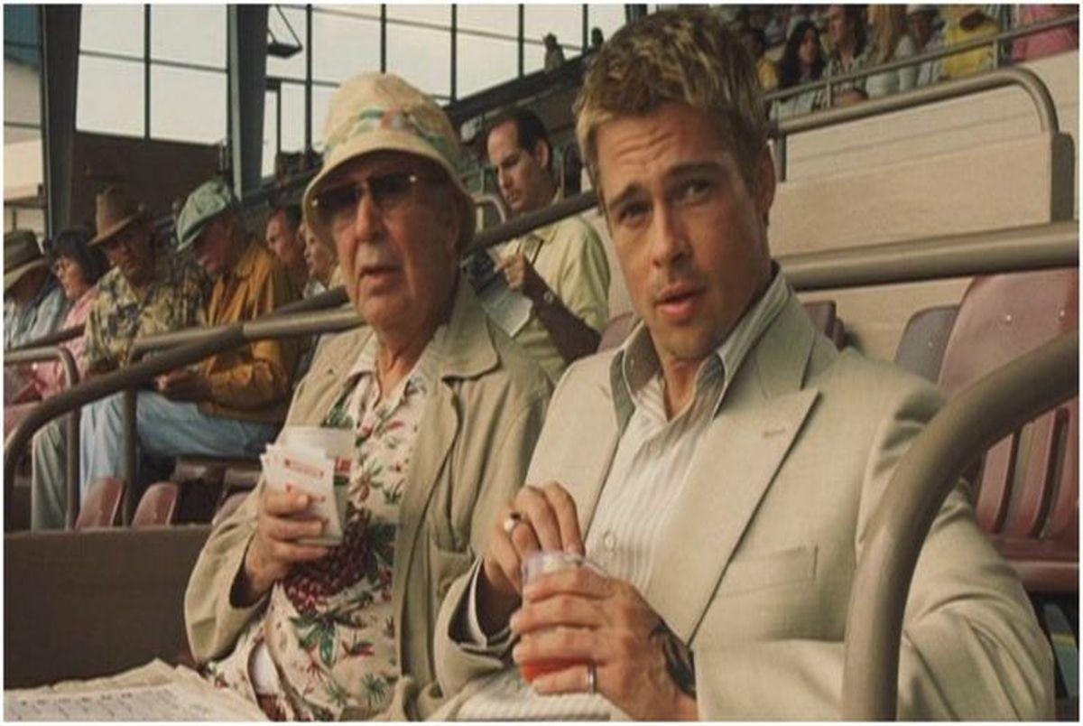 چرا برد پیت همیشه در فیلمها مشغول غذا خوردن است؟