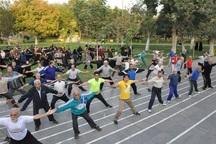 توسعه ورزش های همگانی اولویت دولت دوازدهم 21درصد مردم ورزش می کنند