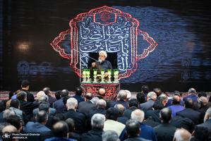 مراسم عزاداری شهادت امام رضا(ع) با سخنرانی شیخ حسین انصاریان