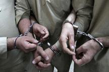 دستگیری پنج سارق حرفهای در بافق