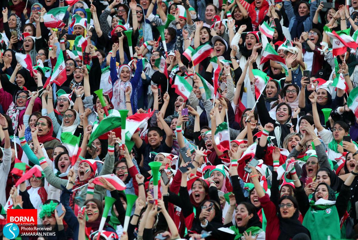 صدور مجوز حضور بانوان در دیدار ایران و کره جنوبی