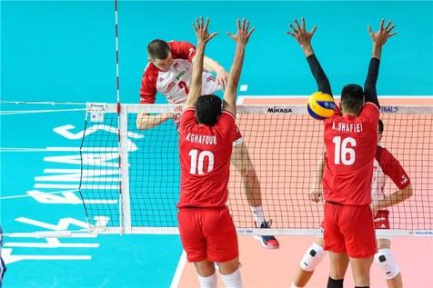 آمار بازی ایران و لهستان در مرحله نهایی لیگ ملت های والیبال