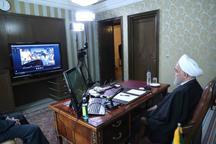 گفتوگوی ویدیو کنفرانسیِ مدیران، پزشکان، پرستاران و پرسنل بیمارستان امام خمینی با رییسجمهور + عکس