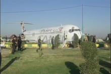 توضیحات یکی از  مسافرین پرواز هواپیمایى کاسپین در خصوص چگونگى خروج هواپیما از باند فرودگاه ماهشهر