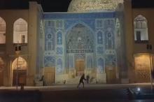 فیلم عجیب در مورد مسجد شیخ لطفالله